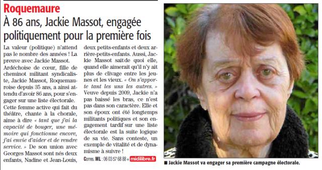 ML page 8 du 8 mars 2014 Jackie