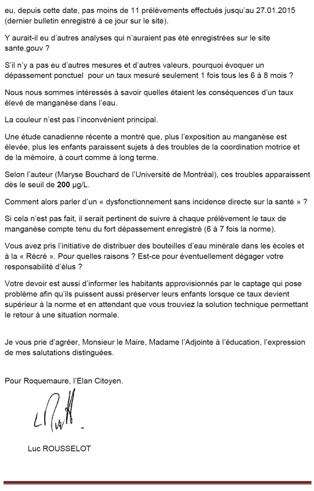 courrier RAR eau potable 23.02.15. page 2